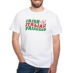 Irish Italian Princess White T-Shirt