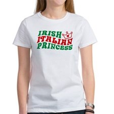 Irish Italian Princess Tee
