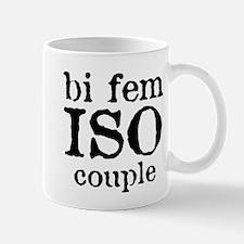 bi fem iso couple Mug