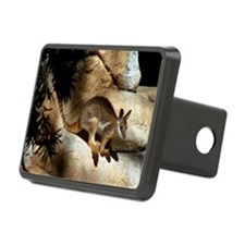 A Yellow-Footed Rock Wallaby Hitch Cover