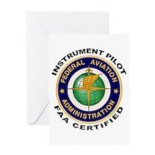 Instrument Pilot Greeting Card