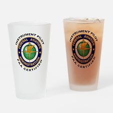 Instrument Pilot Drinking Glass