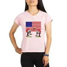 I Love Football (3) Performance Dry T-Shirt