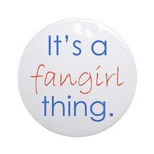 Fangirling Ornament (Round)