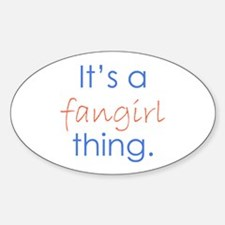 Fangirling Decal