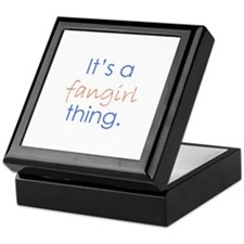 Fangirling Keepsake Box