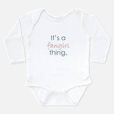Fangirling Long Sleeve Infant Bodysuit