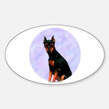 MinPin 4 Oval Decal