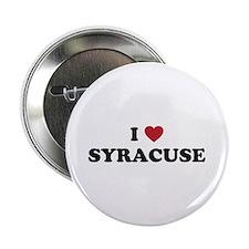 "I Love Syracuse New York 2.25"" Button"
