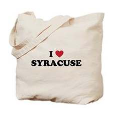 I Love Syracuse New York Tote Bag