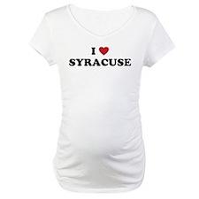 I Love Syracuse New York Shirt