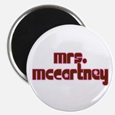Mrs. McCartney / Personalized for you! Magnet