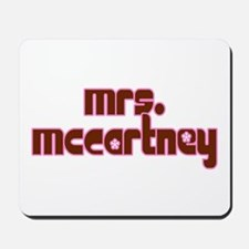 Mrs. McCartney / Personalized for you! Mousepad
