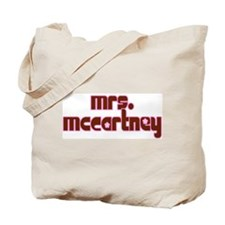 Mrs. McCartney / Personalized for you! Tote Bag