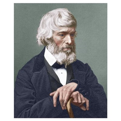 Thomas Carlyle, Scottish author Poster