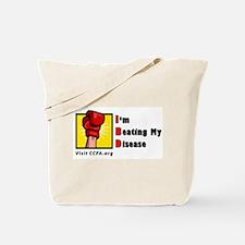 I'm Beating My Disease Tote Bag