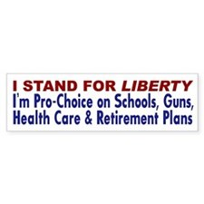 Stand for Liberty Bumper Bumper Sticker