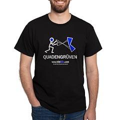 Quadengruven<br> Black T-Shirt