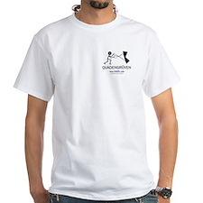 Quadengruven<br> White T-Shirt