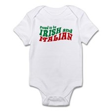 Proud to be Irish and Italian Infant Creeper