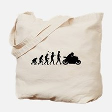 Bike Rider Tote Bag