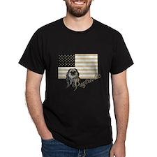 Pugtriotic Gear Black T-Shirt