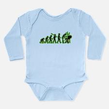 BBQ Long Sleeve Infant Bodysuit