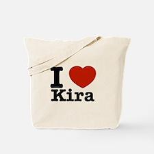 I Love Kira Tote Bag