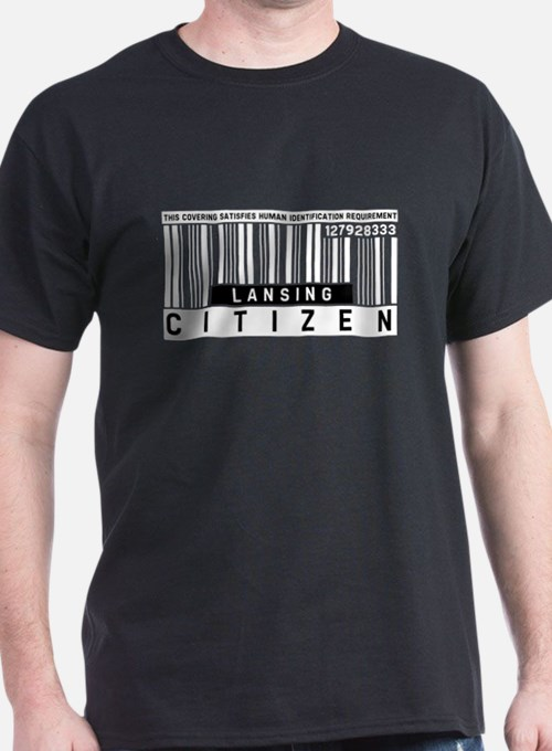 Lansing Citizen Barcode, T-Shirt