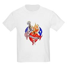 Texas Arm Tattoo Kids T-Shirt