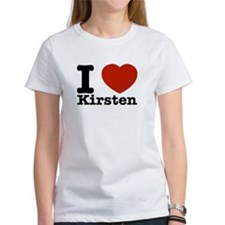 I Love Kirsten Tee