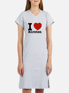 I Love Kirsten Women's Nightshirt