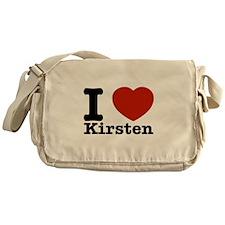 I Love Kirsten Messenger Bag
