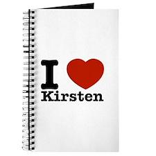 I Love Kirsten Journal