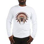 Native War Bonnet 03 Long Sleeve T-Shirt