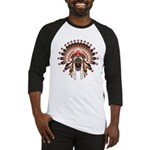 Native War Bonnet 03 Baseball Jersey