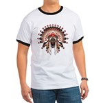 Native War Bonnet 03 Ringer T