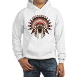 Native War Bonnet 03 Hooded Sweatshirt