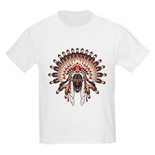 Native War Bonnet 03 T-Shirt