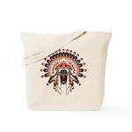 Native War Bonnet 03 Tote Bag