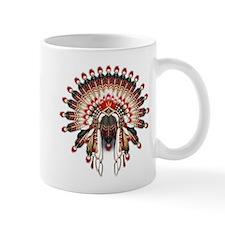Native War Bonnet 03 Mug