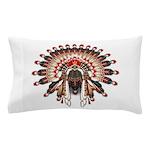 Native War Bonnet 03 Pillow Case