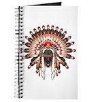 Native War Bonnet 03 Journal