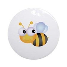 Bee Ornament (Round)