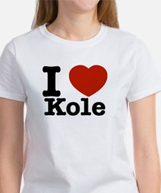 I Love Kole Women's T-Shirt