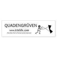 Quadengruven<br>Bumper Sticker