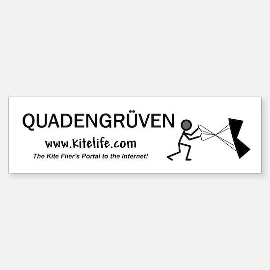 Quadengruven<br>Bumper Car Car Sticker