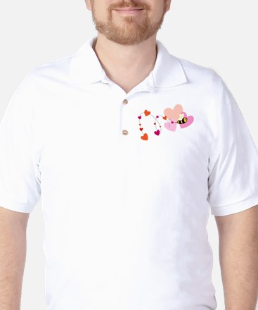 Bee Love Golf Shirt