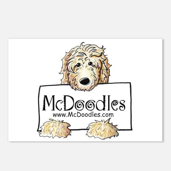 Jordan McDoodles Postcards (Package of 8)