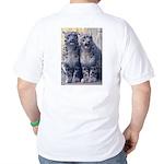 Twin Snow Leopard Cubs Golf Shirt